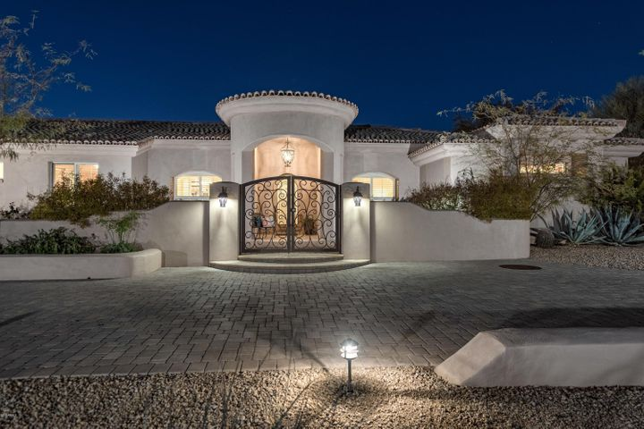 Welcome to this grand custom home sited on cul de sac corner estate