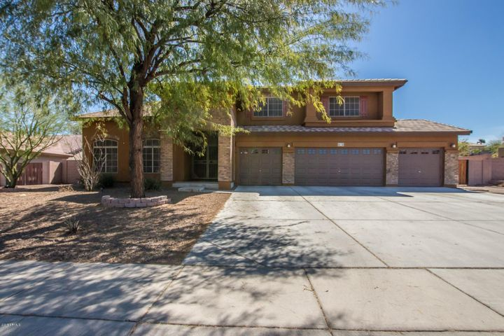 Beautiful home with 4 car garage and freshly painted exterior