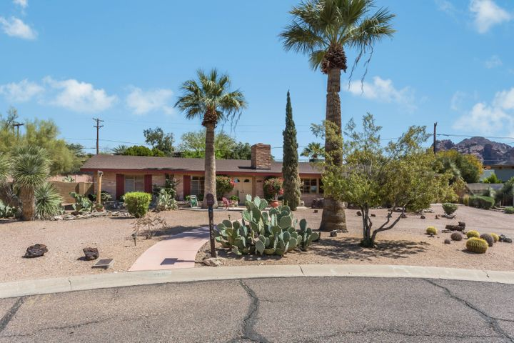 Private Street with Camelback Mountain views