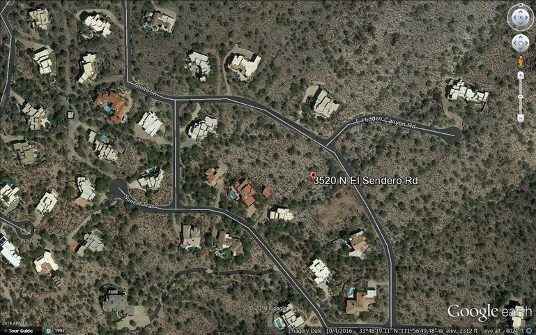 """Exclusive Carefree Foothills Subdivision Vacant """"Lot 74"""""""