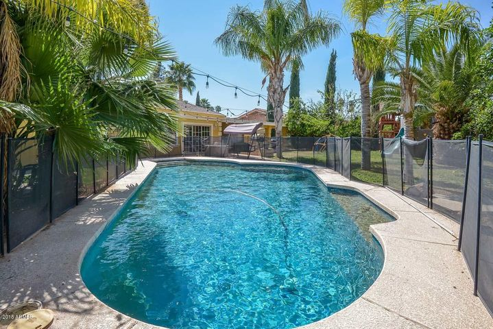 Newly Resurfaced Saltwater Pool