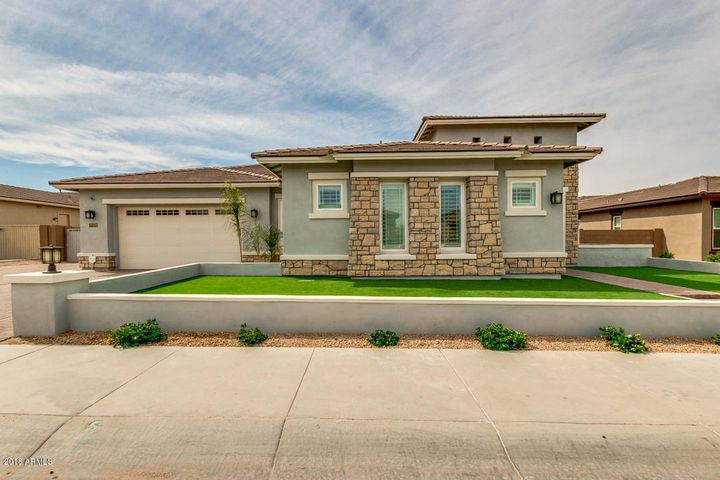Beautiful upgraded elevation with cultured stone , custom wall entry and lighting. This home offer's courtyard, three custom rod iron gates, and synetic grass. .
