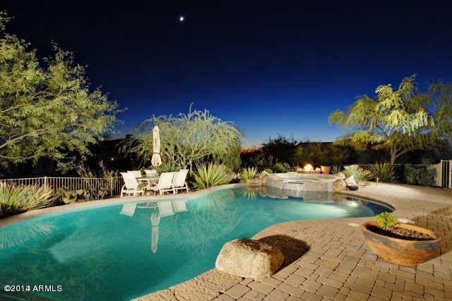 Sunset Backyard View-Heated Pool/Spa
