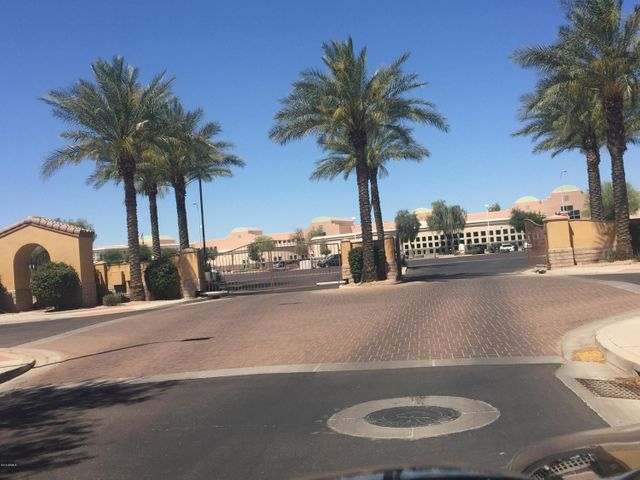 Gated community, the cross view to Hamilton High School