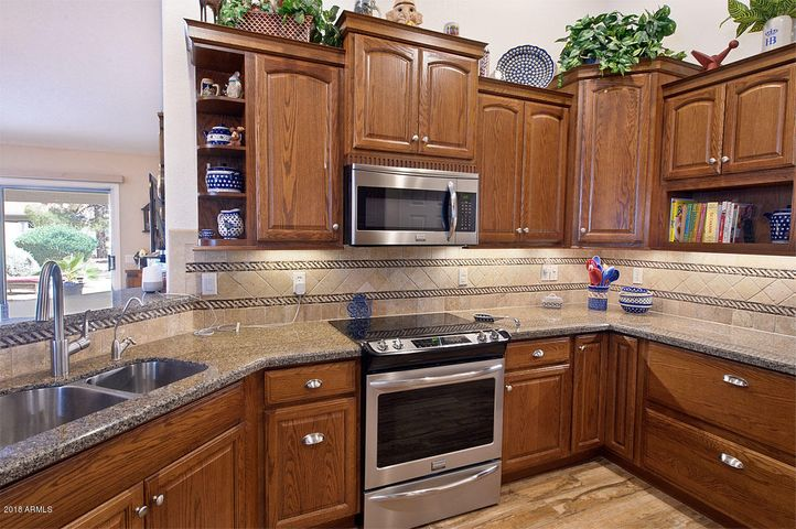 The new kitchen provides pots & pan DRAWER, increase cabinet space and even a special dual trash/recycling bin cabinet.