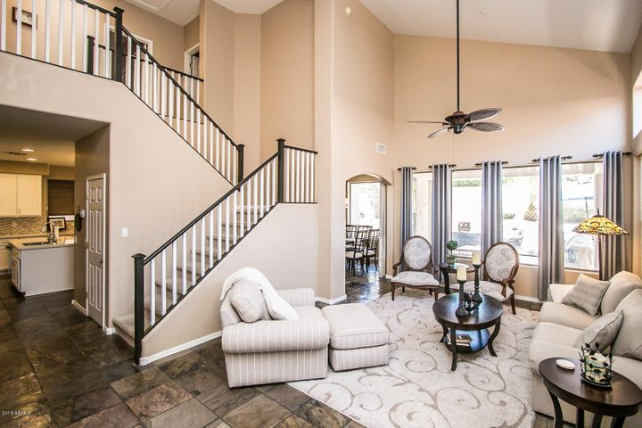 Immaculate home with formal living room