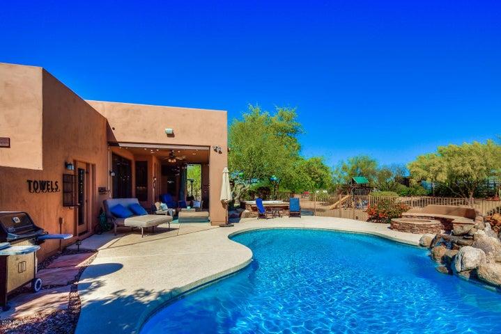 Pool Side Views