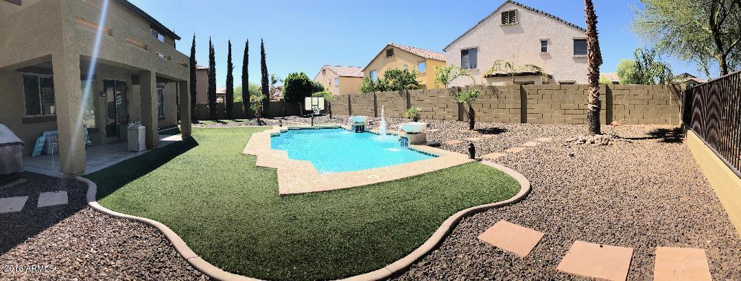 Oasis Back yard