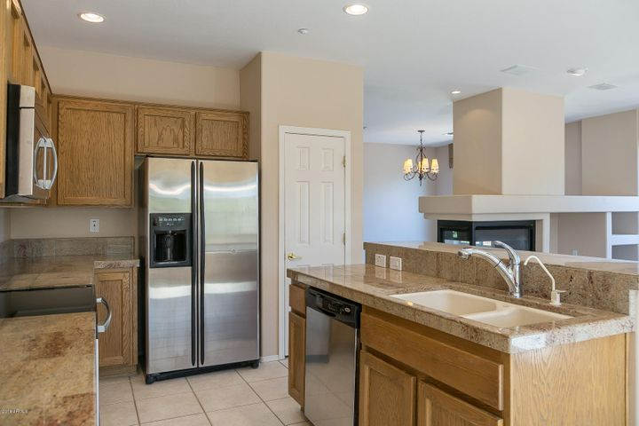 Kitchen with Granite Counters & Stainless Appliances!