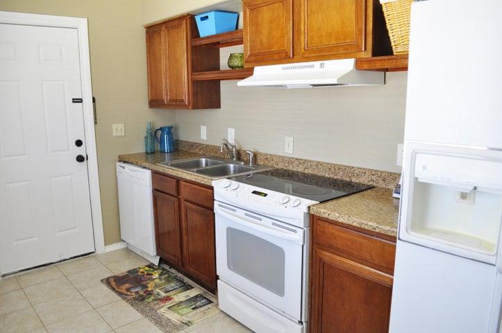 remodeled kitchen with dishwasher