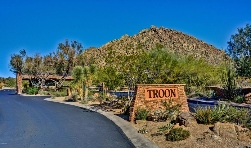 North Scottsdale's most scenic townhome community is tucked at the base of Troon Mountain in guard gated Windy Walk