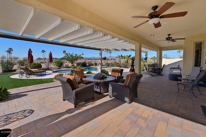Outdoor entertaining is the norm for this property with covered and uncovered PATIOS that with pavered flooring.