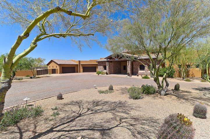2.5 Acres, paved streets, East facing backyard with mountain views.