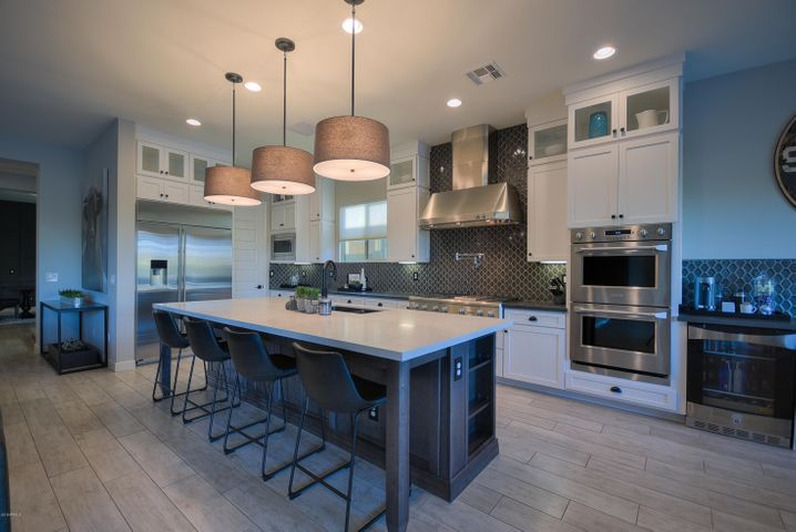 This Chefs kitchen provides the perfect environment for entertainers....