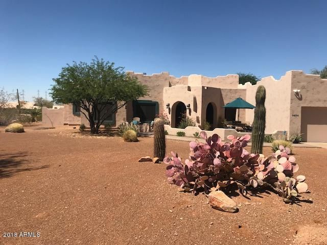Amazing on of a kind Sante Fe home on large lot in Scottsdale