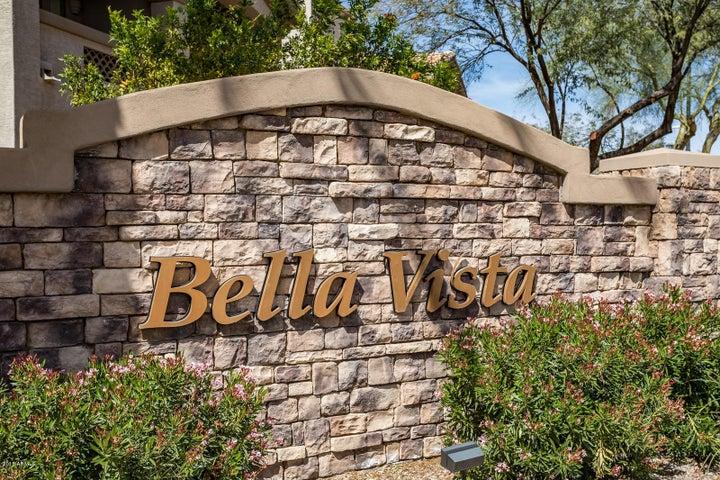 The entrance to Bella Vista
