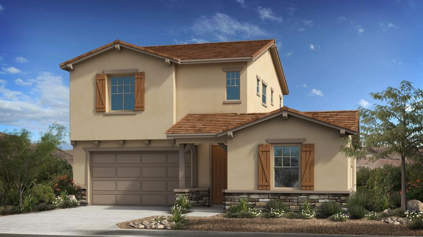The Jasper Floor Plan - Ranch Elevation