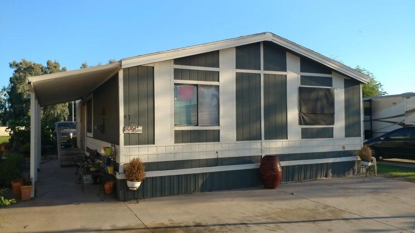 625 W MCKELLIPS Road, LOT 87, Mesa, AZ 85201