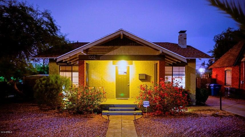 1002 E PALM Lane, Phoenix, AZ 85006