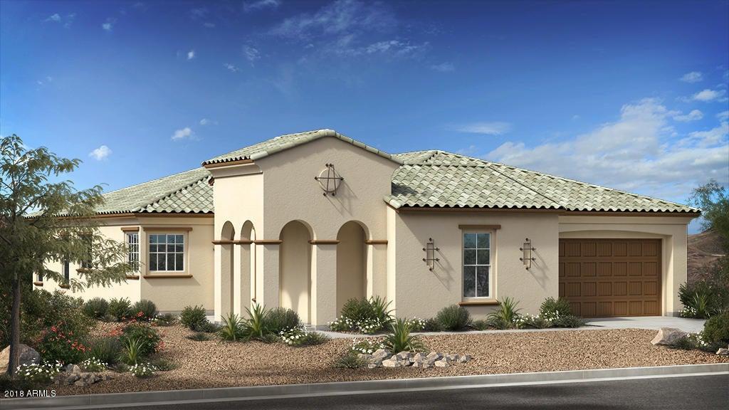 Estates at Eastmark Venture II - Santa Barbara Elevation
