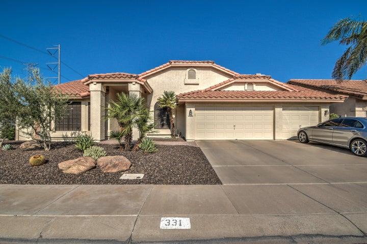 331 N CORRINE Drive, Gilbert, AZ 85234