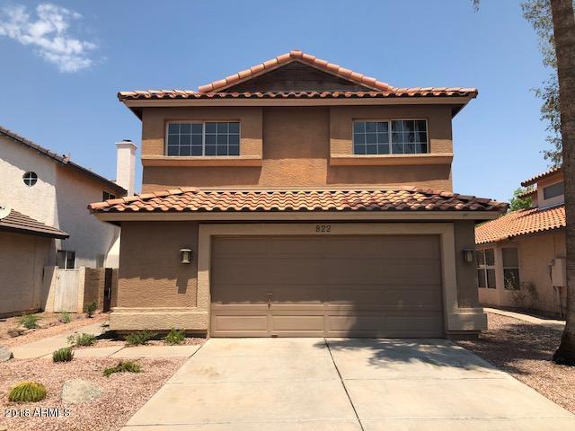 822 W SUN COAST Drive, Gilbert, AZ 85233