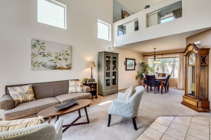 Natural light and soaring ceilings welcome you