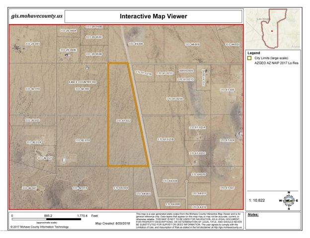 Antares Rd 47 Acres, 19-4, Kingman, AZ 86401