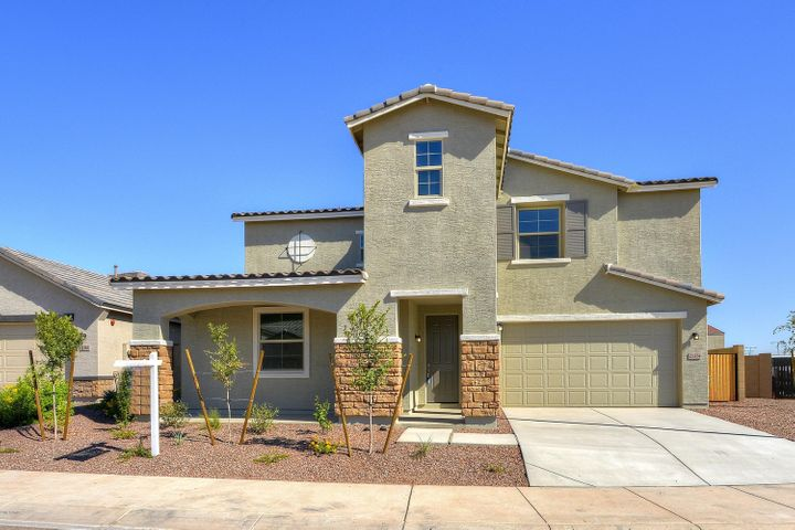 This new 5 bedroom Beazer Home is ready for immediate occupancy.