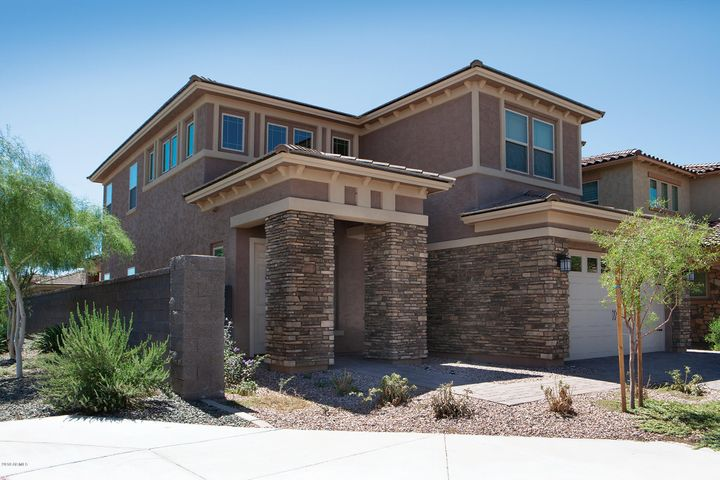 Sanctuary at Desert Ridge. Located on a premium corner lot.