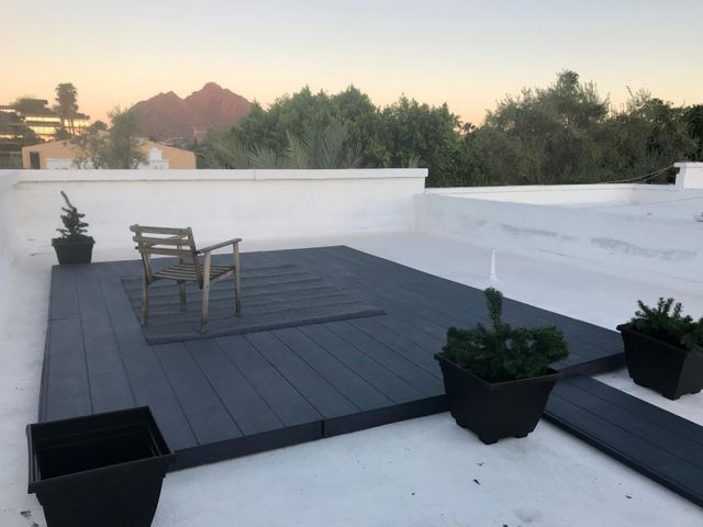 Private roof deck with Camelback Views!
