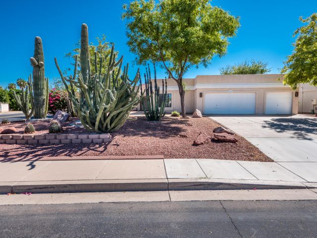 Gorgeous Curb Appeal with Professional Desert Landscaping