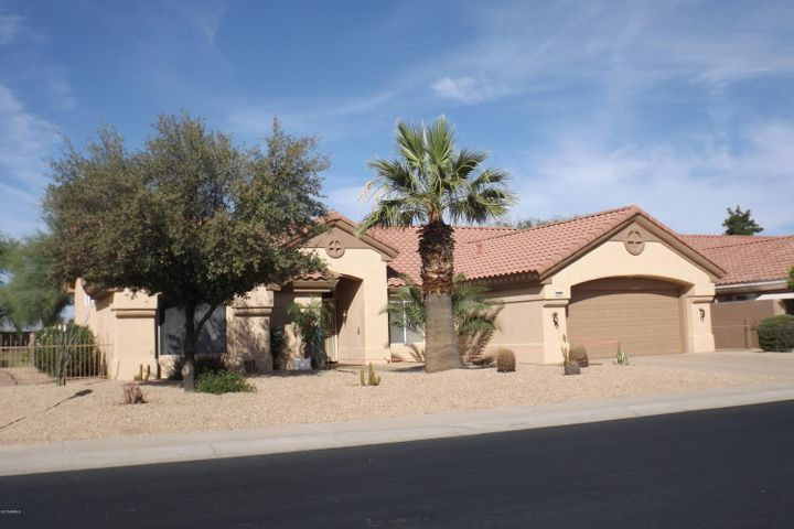 FRONT ELEVATION 20804 N. LIMOUSINE DR. SUN CITY WEST, AZ.