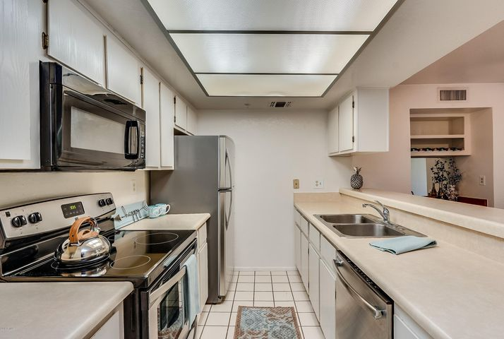 Brand new Stainless Steel Stove, Dishwasher, and Refrigerator.