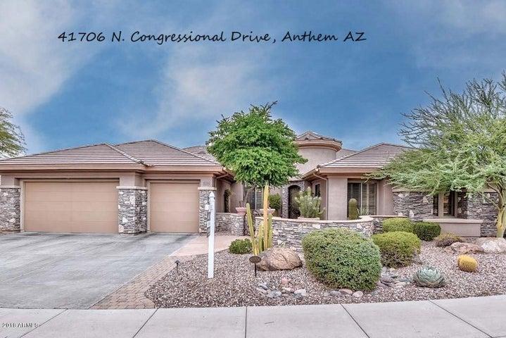 41706 N CONGRESSIONAL Drive, Anthem, AZ 85086