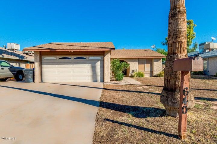 640 W GABLE Avenue, Mesa, AZ 85210