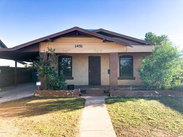 1451 E MCKINLEY Street, Phoenix, AZ 85006