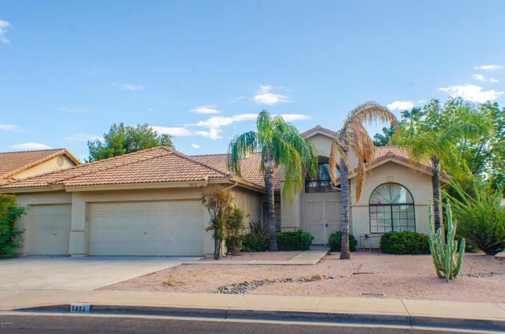 5853 E JASMINE Street, Mesa, AZ 85205