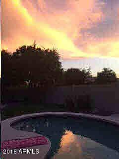 Enjoy your heated, back yard pool and unbelievable sunsets from your back patio.