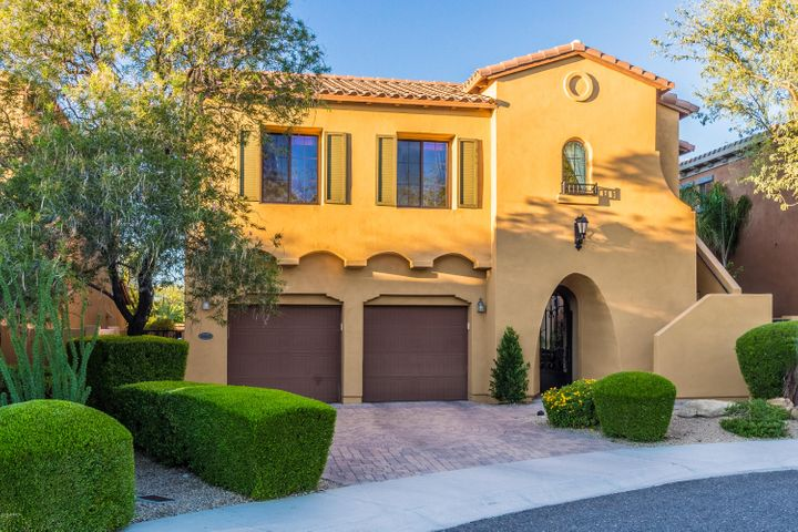 Three car garage and casita steps to private office or en-suite