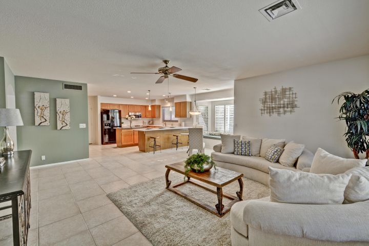Spacious Family Room open to Kitchen