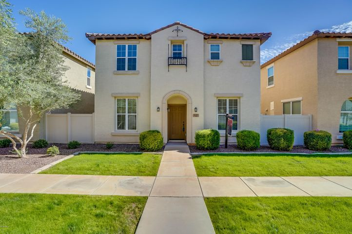 Gorgeous 4 bedroom + loft, 2.5 bathroom home in the highly desirable Cooley Station community located in the heart of Gilbert!