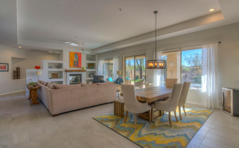 Entertainers delight with open floor plan