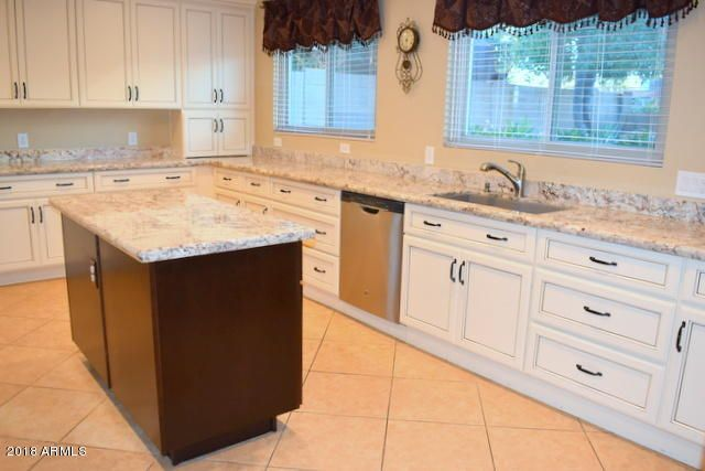 TONS of countertop and preparation areas in this kitchen.