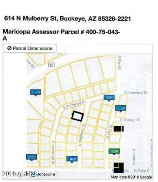 614 N MULBERRY Street N, Buckeye, AZ 85326