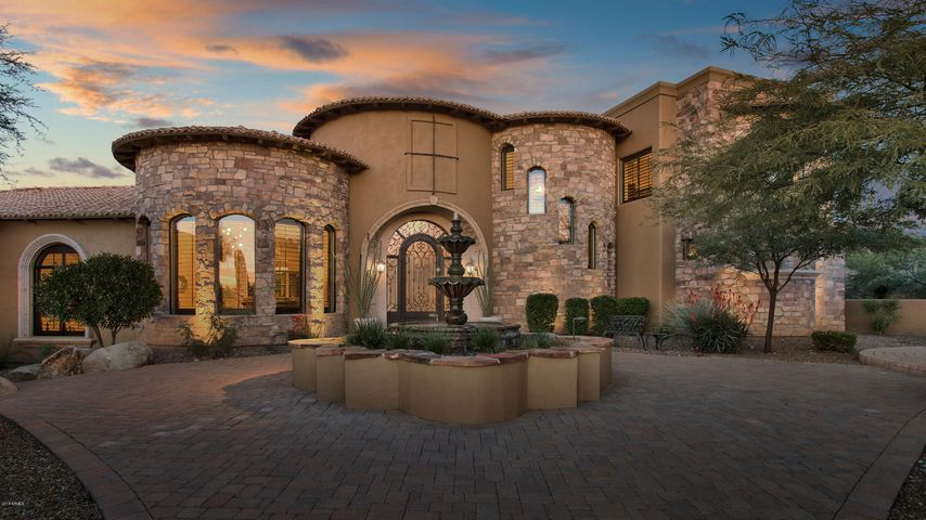 Old World Influenced Tuscan Style Estate