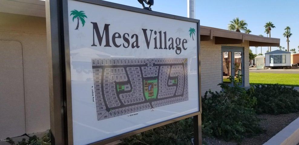 2701 E Allred Avenue, 151, Mesa, AZ 85204