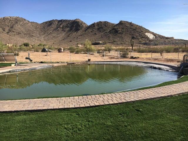Beautiful Mountain views surround your fishing pond.