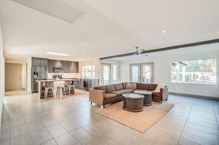 Open floor plan with plenty of room for the family.