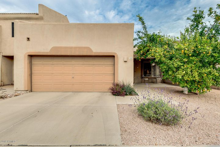 Meticulously maintained, 1,225 sf, 2BR, 2BA patio home with den.